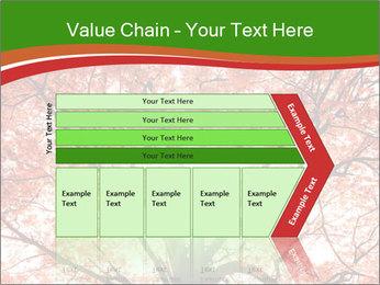 Tree autumn. PowerPoint Template - Slide 27