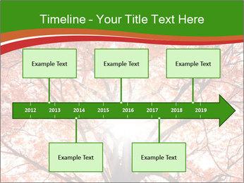 Tree autumn. PowerPoint Template - Slide 28