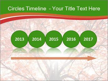 Tree autumn. PowerPoint Template - Slide 29