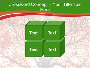 Tree autumn. PowerPoint Template - Slide 39
