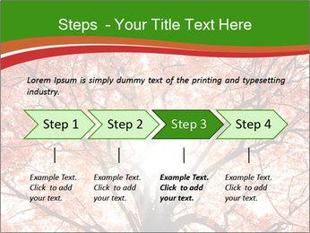 Tree autumn. PowerPoint Template - Slide 4