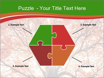 Tree autumn. PowerPoint Template - Slide 40