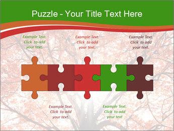 Tree autumn. PowerPoint Template - Slide 41