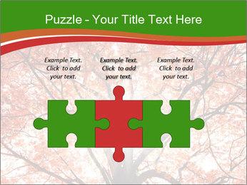 Tree autumn. PowerPoint Template - Slide 42