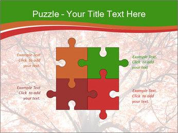 Tree autumn. PowerPoint Template - Slide 43