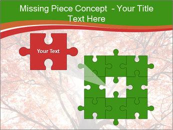Tree autumn. PowerPoint Template - Slide 45
