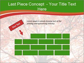 Tree autumn. PowerPoint Template - Slide 46