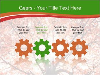 Tree autumn. PowerPoint Template - Slide 48