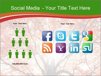 Tree autumn. PowerPoint Template - Slide 5