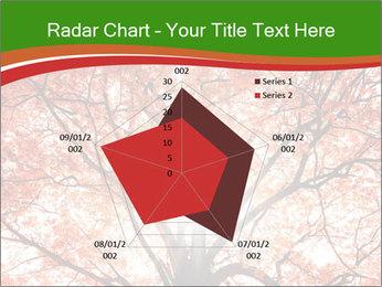 Tree autumn. PowerPoint Template - Slide 51