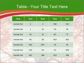 Tree autumn. PowerPoint Template - Slide 55