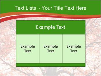 Tree autumn. PowerPoint Template - Slide 59