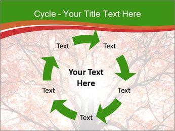 Tree autumn. PowerPoint Template - Slide 62