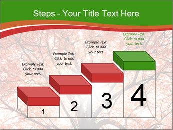 Tree autumn. PowerPoint Template - Slide 64