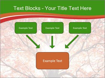 Tree autumn. PowerPoint Template - Slide 70