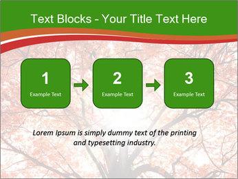 Tree autumn. PowerPoint Template - Slide 71