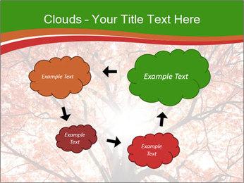 Tree autumn. PowerPoint Template - Slide 72