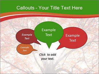 Tree autumn. PowerPoint Template - Slide 73