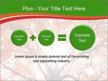 Tree autumn. PowerPoint Template - Slide 75