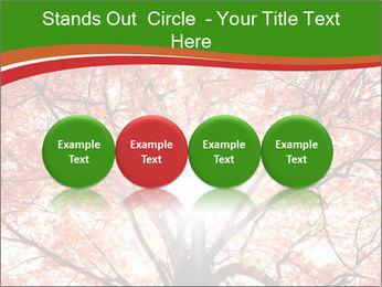Tree autumn. PowerPoint Template - Slide 76