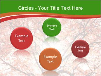 Tree autumn. PowerPoint Template - Slide 77