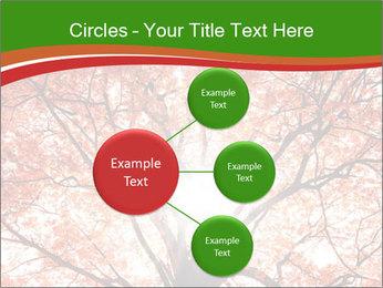Tree autumn. PowerPoint Template - Slide 79
