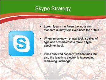 Tree autumn. PowerPoint Template - Slide 8