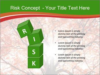 Tree autumn. PowerPoint Template - Slide 81