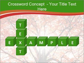 Tree autumn. PowerPoint Template - Slide 82