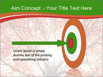 Tree autumn. PowerPoint Template - Slide 83