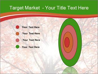 Tree autumn. PowerPoint Template - Slide 84