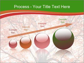 Tree autumn. PowerPoint Template - Slide 87