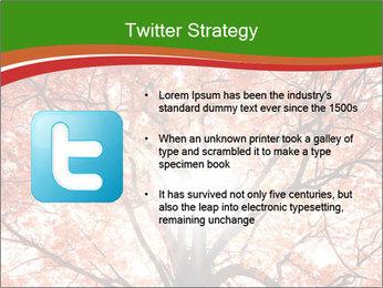 Tree autumn. PowerPoint Template - Slide 9
