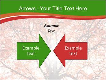 Tree autumn. PowerPoint Template - Slide 90