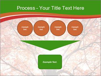 Tree autumn. PowerPoint Template - Slide 93