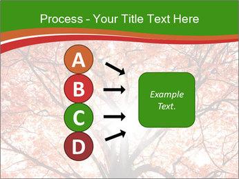 Tree autumn. PowerPoint Template - Slide 94
