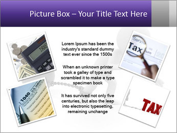 Dragging a heavy metal ball PowerPoint Templates - Slide 24