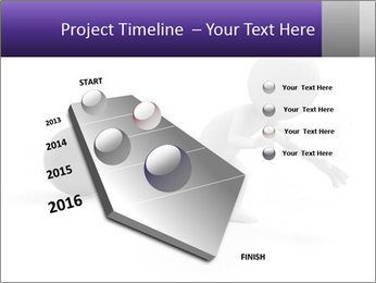 Dragging a heavy metal ball PowerPoint Template - Slide 26