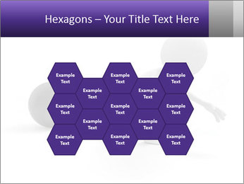 Dragging a heavy metal ball PowerPoint Templates - Slide 44