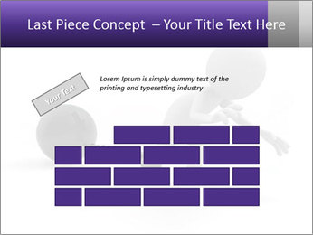 Dragging a heavy metal ball PowerPoint Templates - Slide 46