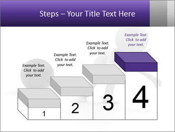 Dragging a heavy metal ball PowerPoint Templates - Slide 64