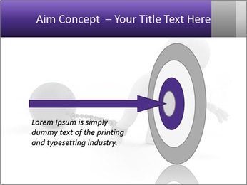 Dragging a heavy metal ball PowerPoint Template - Slide 83