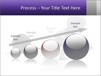 Dragging a heavy metal ball PowerPoint Template - Slide 87