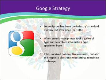 Tree hands PowerPoint Template - Slide 10
