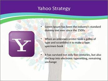 Tree hands PowerPoint Template - Slide 11