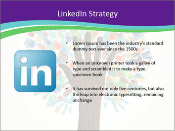 Tree hands PowerPoint Template - Slide 12