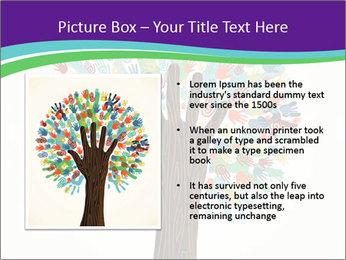 Tree hands PowerPoint Template - Slide 13