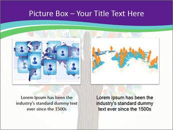 Tree hands PowerPoint Template - Slide 18