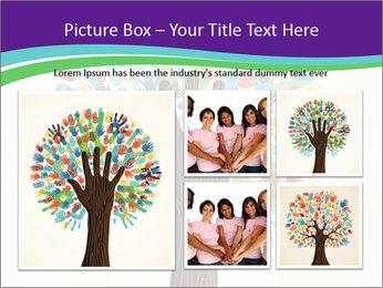 Tree hands PowerPoint Template - Slide 19