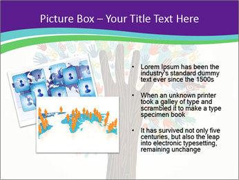 Tree hands PowerPoint Template - Slide 20